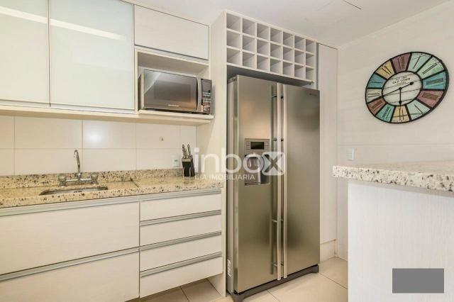 Magnífico apartamento com 2 dormitórios para alugar, 86 m² por R$ 4.800/mês - Três Figueir - Foto 13