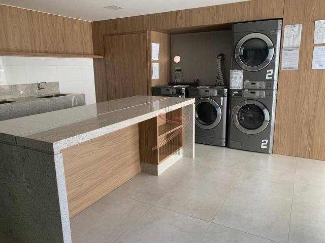 Apartamento com 1 dormitório para alugar, 50 m² por R$ 2.500,00/mês - Edifício Riverside - - Foto 20