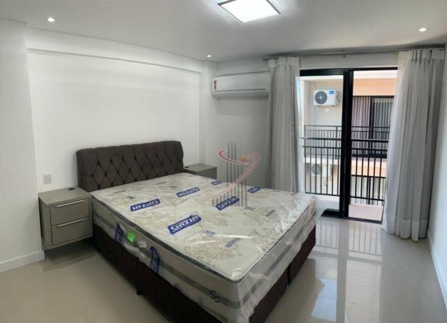 Apartamento com 1 dormitório para alugar, 50 m² por R$ 2.500,00/mês - Edifício Riverside - - Foto 11