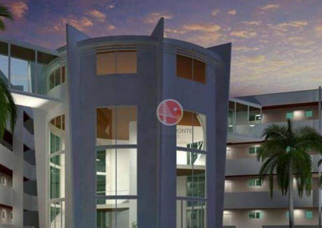 Apartamento com 3 dormitórios à venda, 87 m² por R$ 430.000,00 - Porto das Dunas - Eusébio - Foto 2