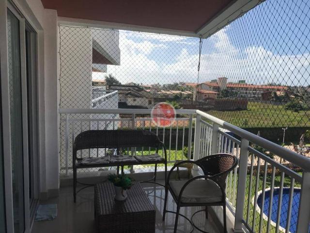 Apartamento com 3 dormitórios à venda, 87 m² por R$ 430.000,00 - Porto das Dunas - Eusébio - Foto 11