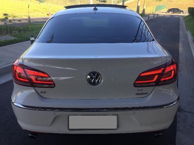 VW Passat CC R-line 3.6 V6 2014 o mais top da categoria - Foto 5
