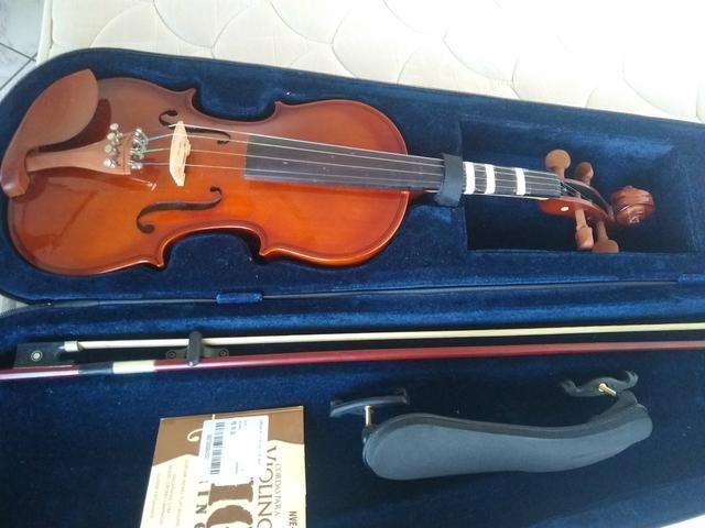 Violino Hofma 4/4 + Acessórios - Foto 3