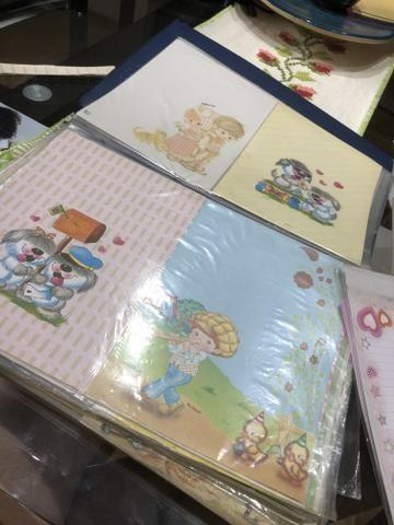 Coleção papéis de carta