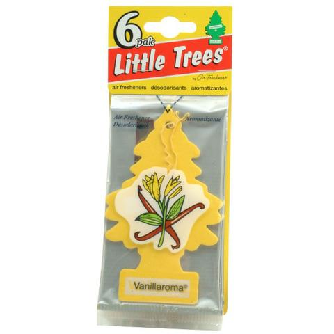 Aromatizador Little Trees - Baunilha Original 6 Unidades