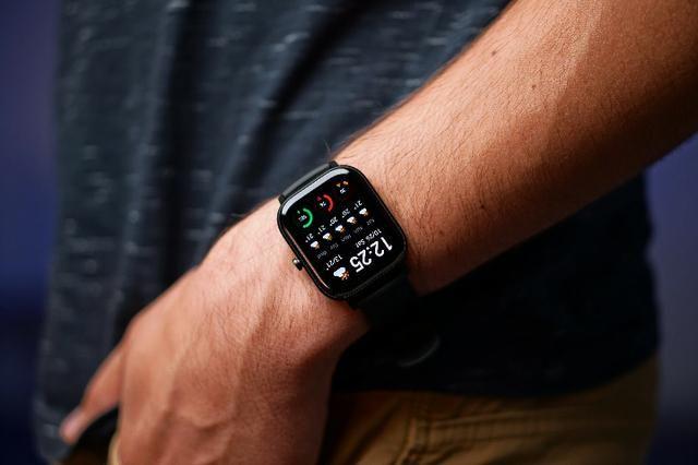 Relógio Inteligente Xiaomi Amazfit GTS Smartwatch Amoled Global - Foto 3