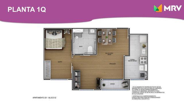Duque de Caxias - Antecipe se apartamento 2 Qrto(1 SUÍTE) com varanda -ótima localização - Foto 5