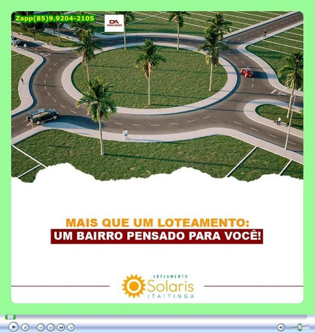 Loteamento Solaris em Itaitinga = Adquira já o seu lote *& - Foto 9