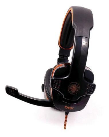 Headset Gamer Oex Target 7.1 pra PC em Fortaleza