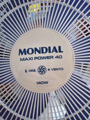 Ventilador novo mondiial 6 pás - Foto 3