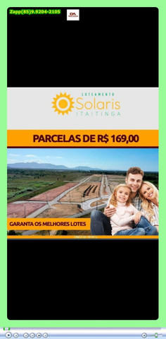 Loteamento Solaris em Itaitinga = Adquira já o seu lote *& - Foto 4
