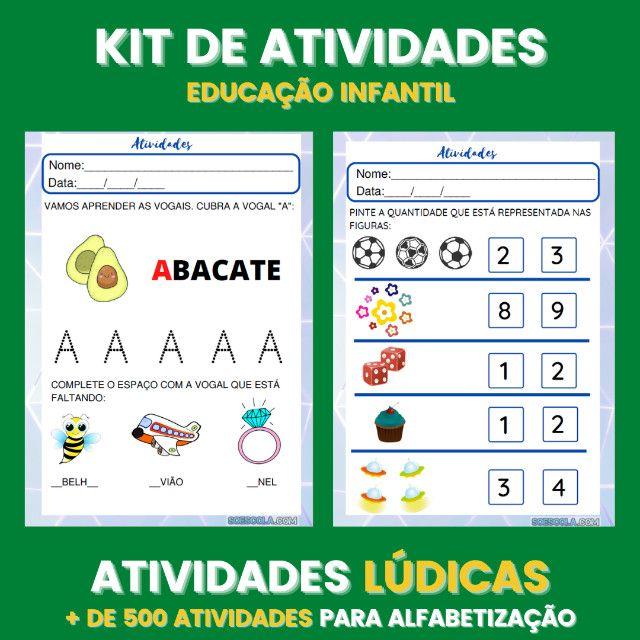 .:: Kit de Atividades ::. Kit Infantil