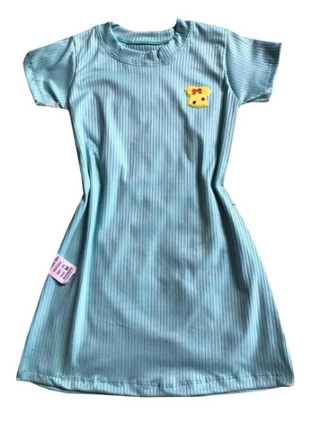 Kit 60 vestido infantil canelado fashion