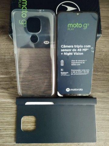 T.r.o.c.o Motorola moto g 9 novo e na garantia - Foto 2