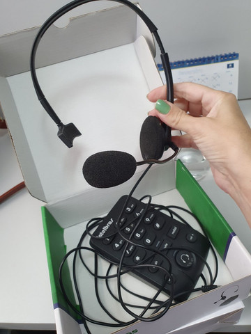 Headset profissional de alto desempenho