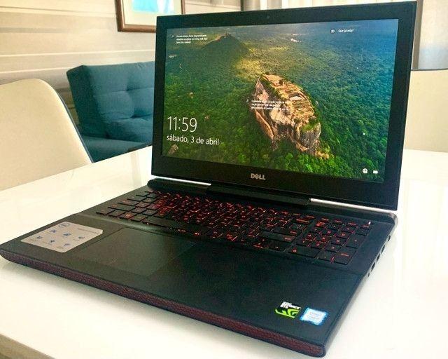 Notebook Dell Gaming i7 7° Geração HQ  Troco por CPU - Foto 4