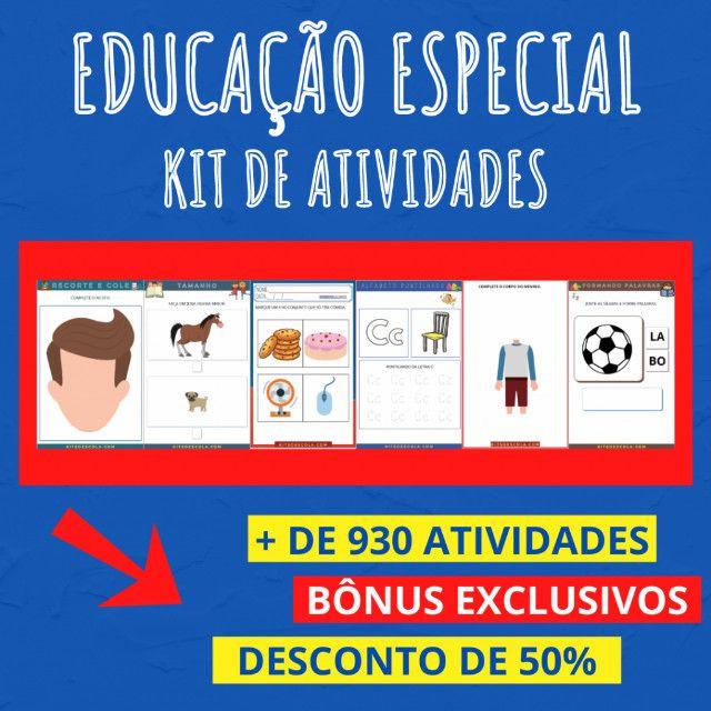 .:: Kit de Atividades :: Kit Educação Especial