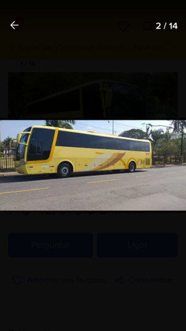Ônibus Busscar Vistabuss Lo Mercedes 0500 Rs Seminovo Com Ar - Foto 4