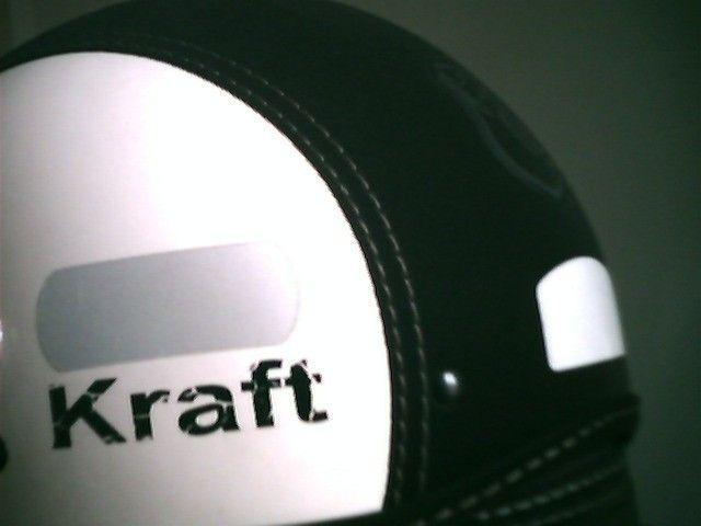 Capacete Kraft Aberto Com Óculos Interno Nº 56 ao 58  Praticamente sem Uso - Foto 4