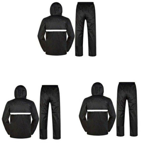 Jaquetas com capul é calça em nylon impermeável  - Foto 4