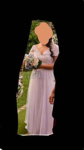 Vestido de noiva + véu  - Foto 3