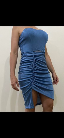 Vestido Betina Azul nunca usado