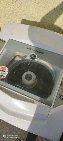 Máquina de lavar Brastemp 7 kilos em perfeito estado barata pra ir embora hoje - Foto 6