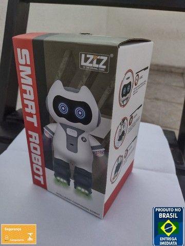 Smart Robot Robô Inteligente Musical Brinquedo Criança Luzes
