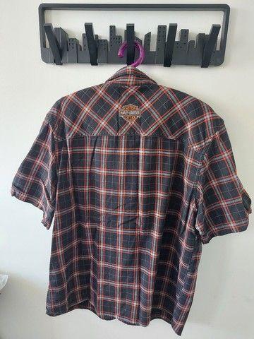 Camisa Harley Davidson tam G - Foto 2