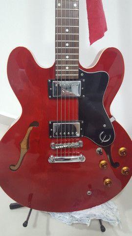Guitarra EpiPhone Es-335 Dot Cherry