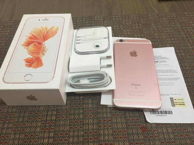 Iphone 6s Ouro Rosa 64 GB