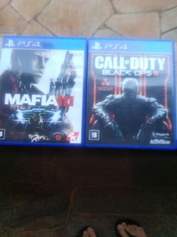 Mafia 3 e call of duty black ops 3 pro ps4