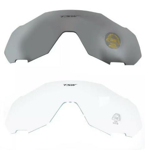 2bfeb2ec202cf Óculos De Ciclismo Mtb 3 Lentes Com Proteção Uv400 Tsw Cross ...
