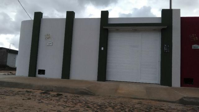 Casas 100m2, com 3 dormitório, Teto(Concreto armado),Box, cerca elet