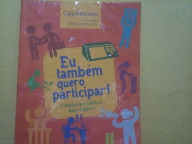 Livro Juvenil: Eu também quero participar
