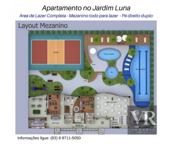 Apartamento Novo no Jardim Luna, 3 quartos sendo 1 suíte, Móveis Projetados, Anº 2
