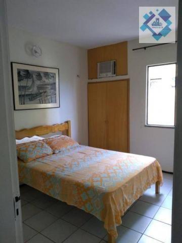 Apartamento com 1 dormitório à venda, 38 m² por R$ 220.000 - Porto das Dunas - Aquiraz/CE - Foto 18