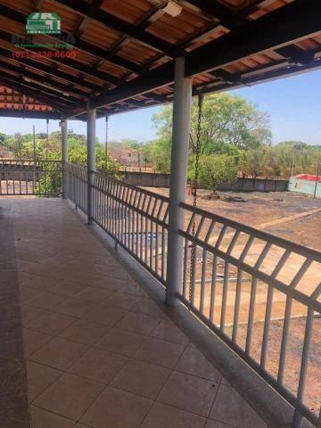 Chácara com 2 dormitórios para alugar, 4000 m² por R$ 2.500/mês - Chácaras Americanas - An - Foto 4