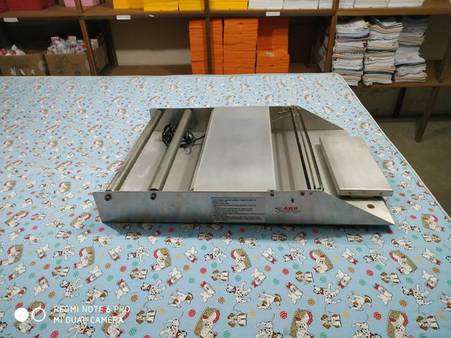 Embaladora 40 cm Embalafil Standard Inox R.Baião - chave seletora - Foto 4