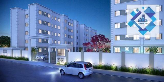 Apartamento / 2 Quartos - Área total: 44,90 /Maraponga. - Foto 6