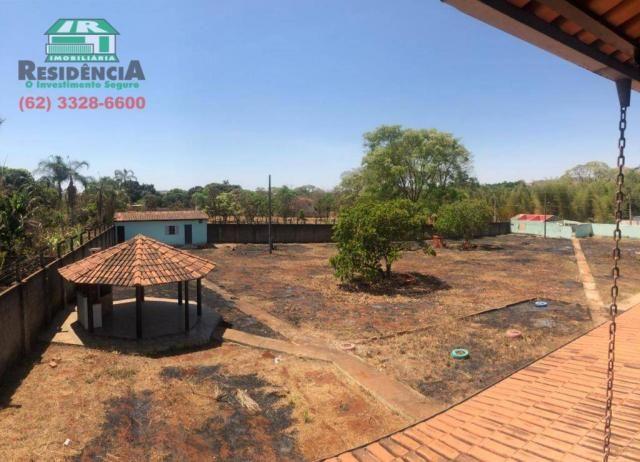 Chácara com 2 dormitórios para alugar, 4000 m² por R$ 2.500/mês - Chácaras Americanas - An - Foto 3