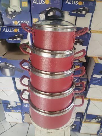 PANELAS CRAQUEADAS vermelha - Foto 2
