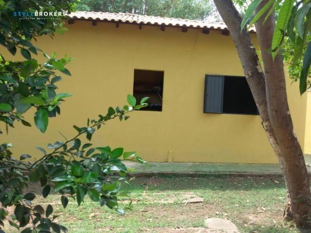 Rancho Parque dos Pequizeiros com 2 dormitórios à venda por R$ 420.000 - Zona Rural - Sant - Foto 4