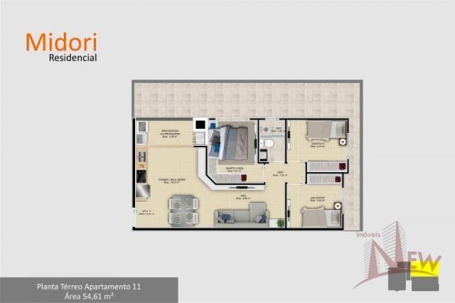 Apartamento 03 quartos no Parque da Fonte, São José dos Pinhais - Foto 13
