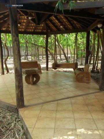 Rancho Parque dos Pequizeiros com 2 dormitórios à venda por R$ 420.000 - Zona Rural - Sant - Foto 12