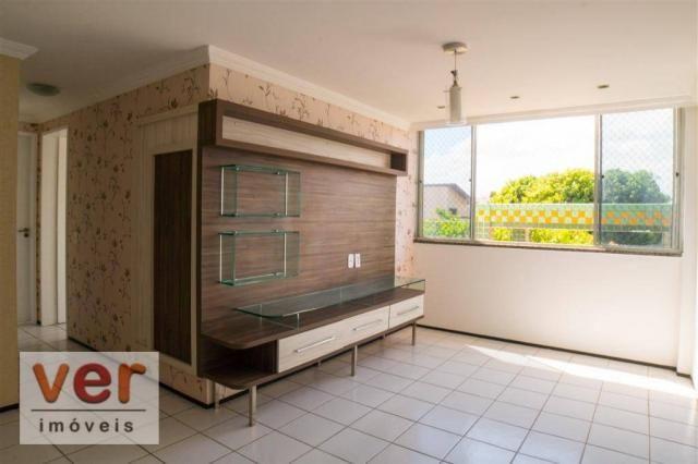 Apartamento à venda, 56 m² por R$ 260.000,00 - José de Alencar - Fortaleza/CE - Foto 2