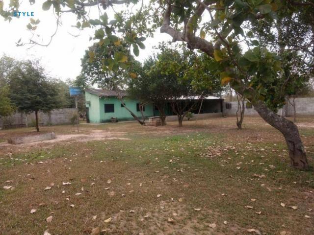 Chácara no Pai André com 1 dormitório à venda, 5100 m² por R$ 200.000 - Pai André - Várzea - Foto 2