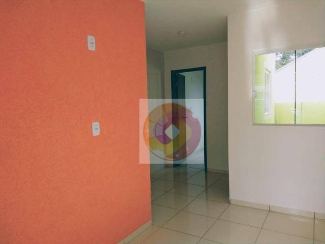 Casa com 2 dormitórios à venda, 40 m² por R$ 135.000 - Tatuquara - Curitiba/PR - Foto 6