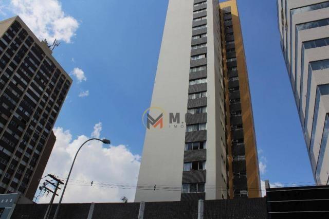 Apartamento amplo, andar alto, com 03 dormitórios, à venda, Alto da Glória - Curitiba. - Foto 2