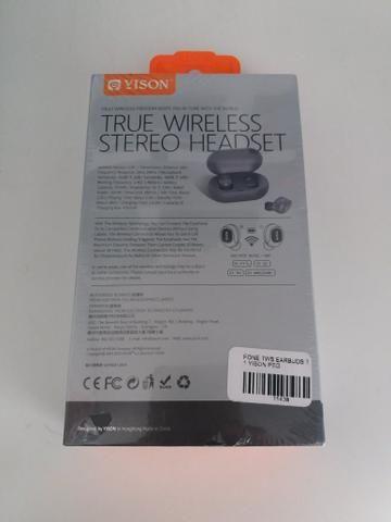 Fone de ouvido tws earbuds novo na embalagem - Foto 2